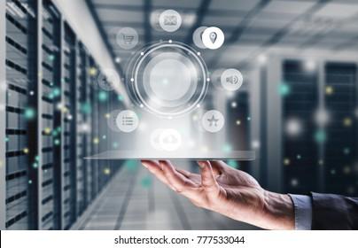 Online payment network digital technology
