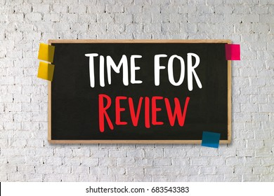 Time for Review Images, Stock Photos & Vectors | Shutterstock