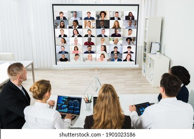 Online Video Conference Call In Meeting Meeting