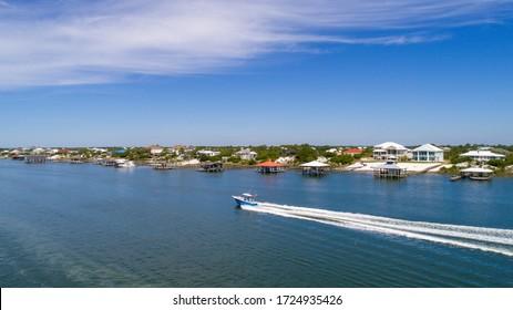 Ono Island, Alabama Beach in May 2020
