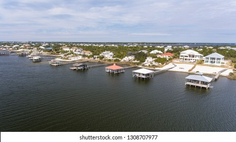 Ono Island at Orange Beach, Alabama in February 2019