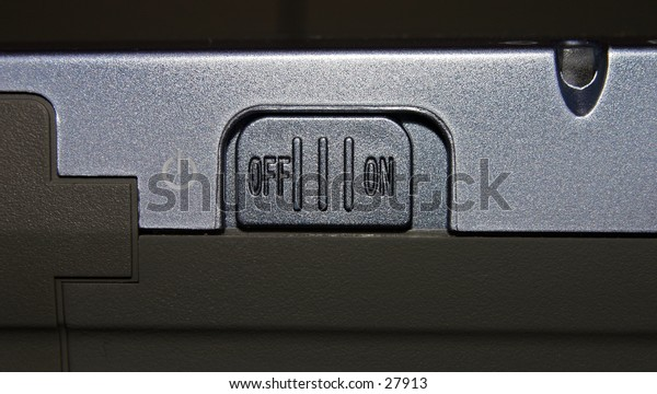 on/off switch on an image tank device