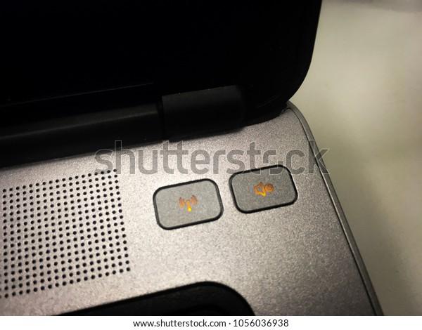 Onoff Wifi Status Button Sound Button Stock Photo (Edit Now) 1056036938