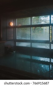 Onsen in the morning makes my day