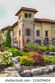ONTARIO - CANADA, AUGUST 6, 2017: Colaneri Estate Winery is located in Niagara on the Lake in Ontario, Canada.