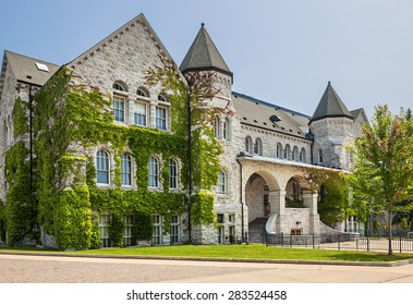 Ontario Hall building on campus of Queen's University in Kingston, Canada.