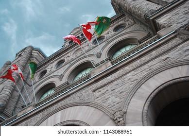 Ontario Legislative Building - Queen's Park - Toronto, Canada