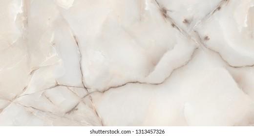 onyx marble natural, ivory semi precious texture background, polished Carrara Statuario marbel tiles ceramic wall and floor pattern, emperador calacatta glossy satvario limestone, quartzite mineral.