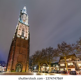 The Onze-Lieve-Vrouwetoren, the Tower of Our Lady in Amersfoort, the Netherlands