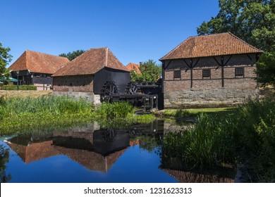 Oostendorp water mills, Haaksbergen, Holland