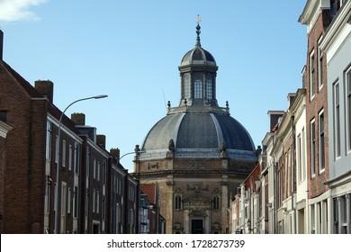 Oostkerk in Middelburg, Zeeland, Netherlands