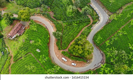 Ooty - Curvy Road which leads to beautiful destination