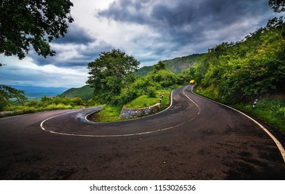 Ooty Hill curve road