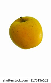 Opal apple (Malus domestica Opal). Known as UEB32642 also. Hybrid between Golden Delicious and Topaz apples.