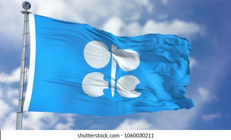 OPEC Waving Flag