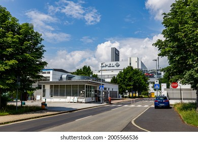 The Opel Car factory at Eisenach in Thuringia in Germany, July 10, 2021