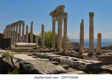 Open air museum of an antique city of Pergamon, Turkey