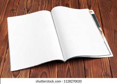 blank papyrus paper book open stock photo edit now 452236291