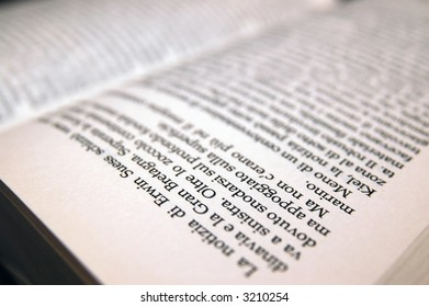 Open book view