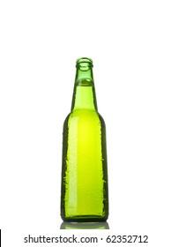 Open bottle of beer