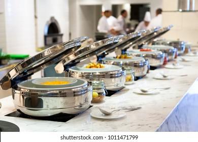 Open Buffet Food