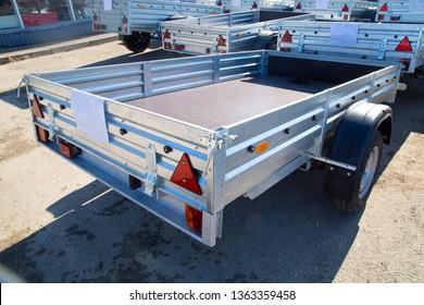 Open car trailer. Shop selling Open car trailer.