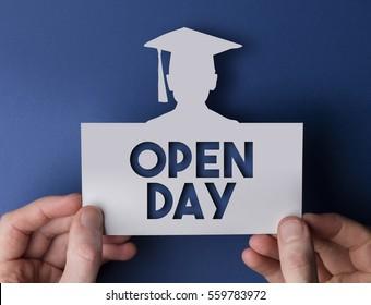 Open day graduate education message