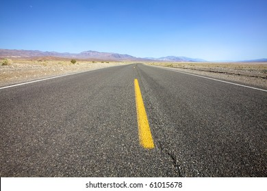 Open desolate highway