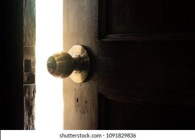 Open the door to the light.