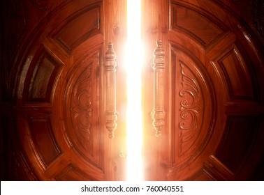 open door light concept