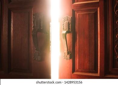 Open door light concept success