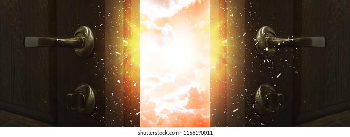Open door, magic