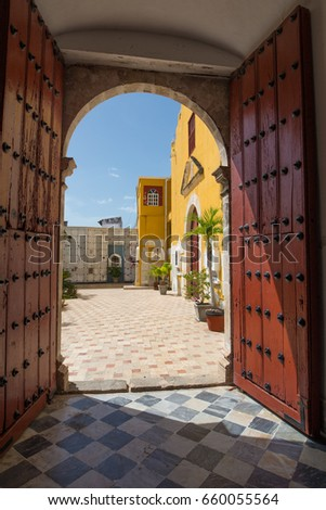 open door welcome entrance door open door welcome door welcome stock photo edit now 660055564 shutterstock