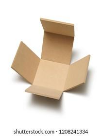 open empty box