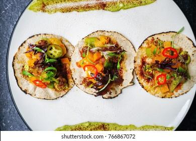 Open Faced Mexican Tacos
