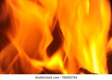 Open fire, costa blanca - Spain