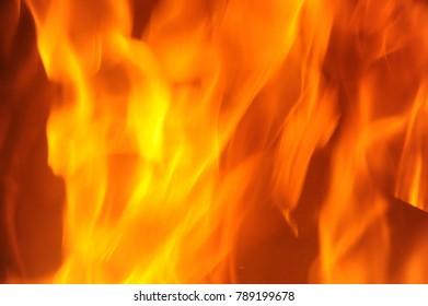 Open fire, Costa Blanca, Spain