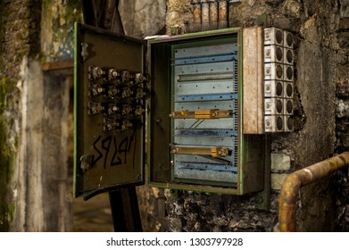Surprising Old House Fuse Box Images Stock Photos Vectors Shutterstock Wiring Cloud Oideiuggs Outletorg