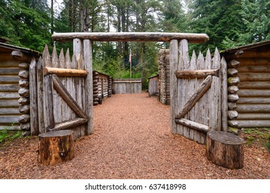 Open Gate at Lewis and Clark National and State Historical Parks