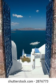 Open gates invites you to explore Santorini island