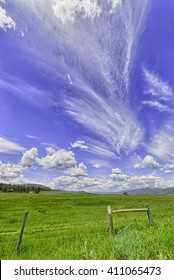 Open grasslands and big skies, Montana.