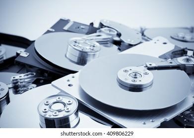 Open hard drives in bulk