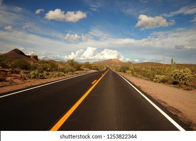 Open highway in pheonix Arizona