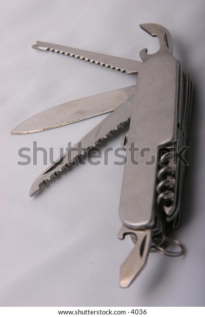 open jack knife and its components
