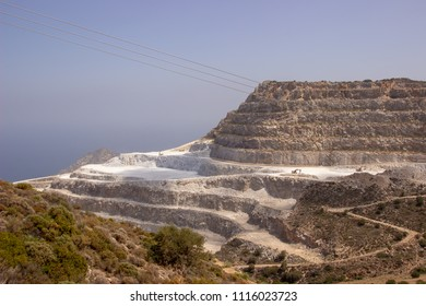 open mining in Greece