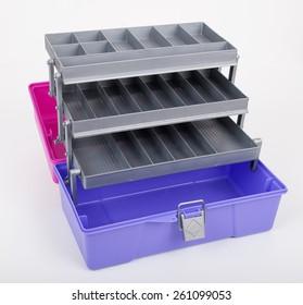 open Multipurpose Plastic Box