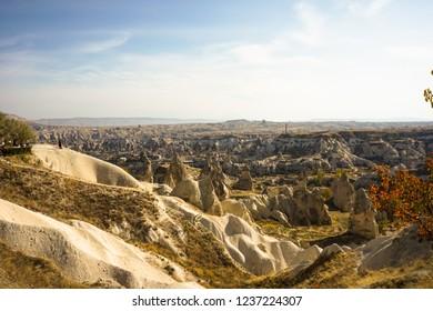 Open Nature in Cappadocia/Kapadokya Turkey. Cave And Nature Shot in Avanos/Nevsehir.