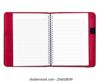 Open note book