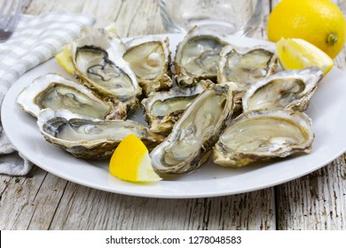 open oyster tray