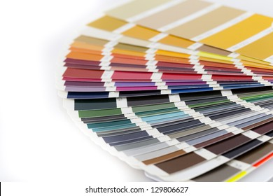 Open Pantone/RAL color card
